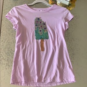 Gap kids sequin tee